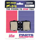 SI Sintered Metal Brake Pads - 749SI