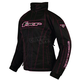 Womens Black/Fuchsia Fusion Jacket