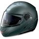 Metallic Lava Gray N90 N-Com Modular Helmet
