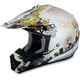Yellow Stunt FX-17 Helmet