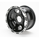 Black Large Bell Cast C-Series Type 7 Aluminum Wheel
