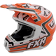 Orange/White Torque Helmet