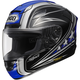 Black/Blue X-Twelve Streamliner Helmet
