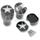 Nautical Star Domed Risers - NYC28125BKP
