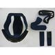 Black Helmet Liner for Shoei Hornet DS Helmets