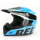 Blue/Black Moto-9 Emblem Helmet
