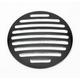 Black Ball-Milled Point Gas Cap Interchangeable Insert - 206410B