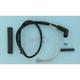 Black Universal Hotwires w/90 Degree Standard Boot - 012001032