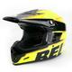 Hot Yellow/Black Moto-9 Emblem Helmet