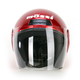 Red Raider Flip Shield Helmet