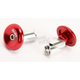 Red Aluminum End Plugs - L71APR