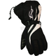 Womens Black/White Tempt Gloves