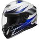Blue/White RF-1100 Seilon Helmet