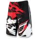 Black/White/Red Splice Short