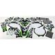 Sikspak Tempered Graphics Kit - N603104