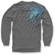 Charcoal Desert Sled Long Sleeve Shirt