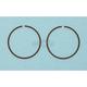 Piston Rings - 55.5mm Bore - 2185CD