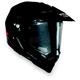 Black AX-8 Dual Sport Helmet