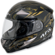 FX-90 Dare Black/Gold Helmet