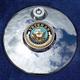 Tank 1.8 Inch Fuel Door Coin Mount With Veteran US Navy 2-Sided Coin - JMPC-FD-VNAVY