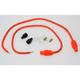 Orange Universal 8mm Pro Wire Set w/180 Degree Boot - 76885