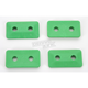 Air Lite Twin Stud Polymer Green Backers for 5/16 in. Studs - 502G-48