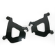 Black Trigger-Lock Mounting Hardware - Plates Only for Bullet Fairing FX - MEB1882