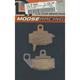 XCR Sintered Metal Brake Pads - 1721-0625