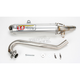 T-4 4 Stroke Exhaust System w/Headpipe - 4QH06450