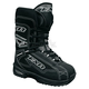 Youth Black/White Backshift Boots