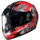 Youth Red/Dark Silver CL-YSN Katzilla Helmet