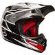 Black/Silver V3 Race Helmet