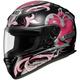 RF-1100 Corazon Black/Silver/Pink Helmet