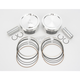 High-Performance Forged Piston Kit - 3.880 in. Bore/9:1 Ratio - K2752