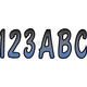 Series 200 Gradation Number/Letter Kit - BLBKG200