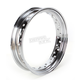 Chrome 16 x 3.50 40-Spoke Custom Spun Steel Rim - 0210-0020