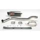 Underseat Oval Slip-On Extreme Muffler w/Carbon Fiber Muffler - HA87CFOC