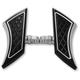Black Anodized Rolex Mini Flip-Up Floorboards - TC-545B