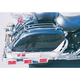 Chrome Saddlebag Top Racks - 472-42