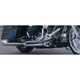 Chrome Union 2-into-1 Exhaust System - 689851