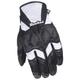 Womens Cleo SR Black/White Gloves