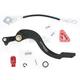 Brake Pedal w/Red Tip - 1610-0338