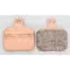 Double-H Sintered Metal Brake Pads - FA266HH