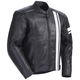 Black/White Coaster 3 Leather Jacket