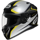 RF-1100 Chroma Black/Silver/Yellow Helmet
