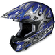 Blue/Silver CL-X6 Frenzy Helmet - 720-921