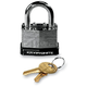 Basic 44mm Steel Key Padlock - 720018-850359