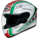 X-Twelve Streamliner White Helmet