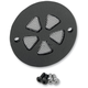Black 5-Spoke Slot Points Cover - 0940-1092