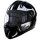 Matte Black/Silver Tranz-RSV Blast Modular Helmet